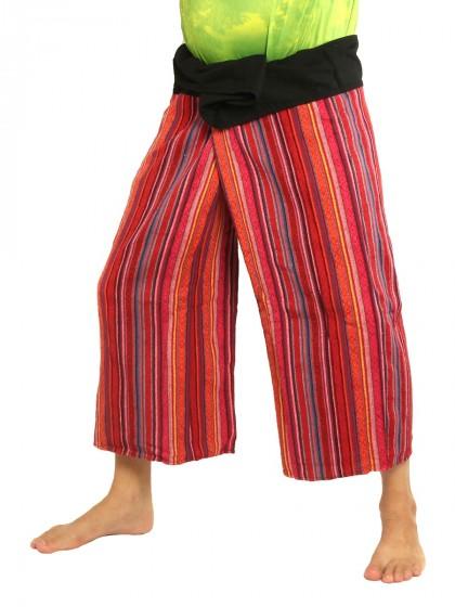 กางเกงเล * ผ้าทอหลากสี