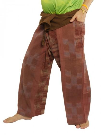 กางเกงเล *ผ้าจอมทอง ทอมือ