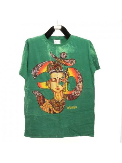 เสื้อยึดผ้าฟอกหิน*สีเขียว Size M