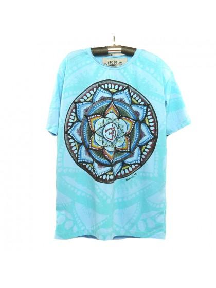 เสื้อยืดผ้านิ่ม*สีฟ้า Size M