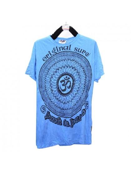 เสื้อยืด*สีฟ้า Size L