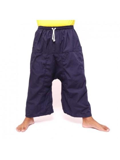 กางเกงเล เอวยางมีเชือกผูก*สีกรม