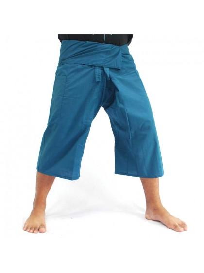 กางเกงเลขาสั้น*สีฟ้าคราม
