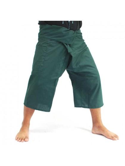 กางเกงเลขาสั้น*สีเขียวหัวเป็ด