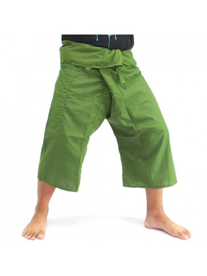 กางเกงเลขาสั้น*สีเขียวตอง