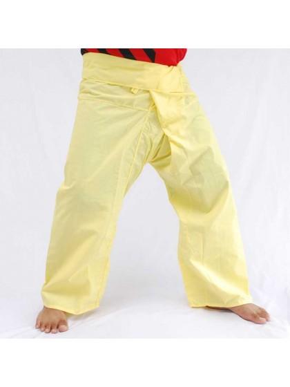 กางเกงเลขายาว*สีเหลือง