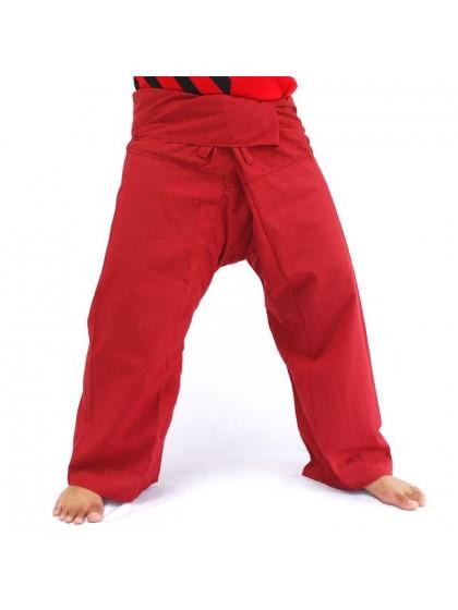 กางเกงเลขายาว*สีเลือดหมู