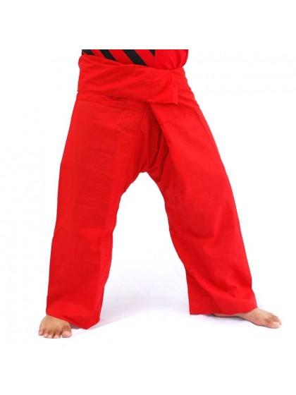 กางเกงเลขายาว*สีแดง
