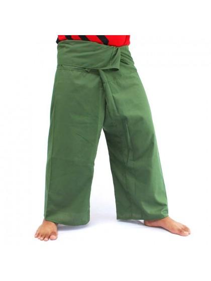 กางเกงเลขายาว*สีเขียวตอง