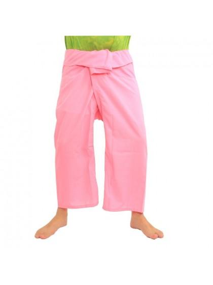 กางเกงเลขายาว*สีชมพู