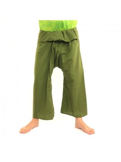 กางเกงเลขายาว*สีเขียว