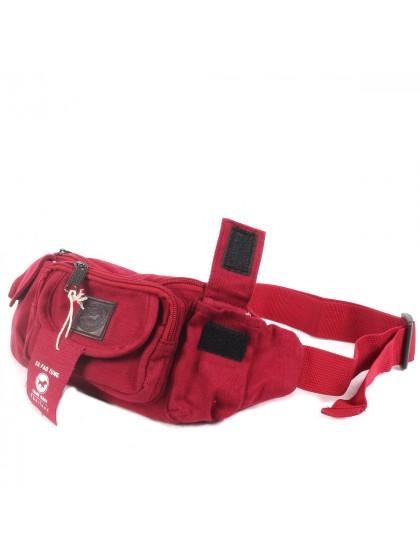 กระเป๋าคาดเอว*สีแดง