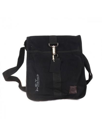 กระเป๋าสะพายไหล่*สีดำ