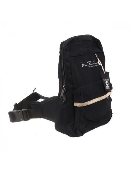 กระเป๋าสะพายข้าง*สีดำ