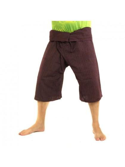 กางเกงเลขาสั้น*กางเกงโยคะ*สีัมังคุด