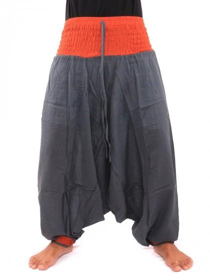 กางเกงอลาดิน * สีส้ม  สีเทาเข้ม