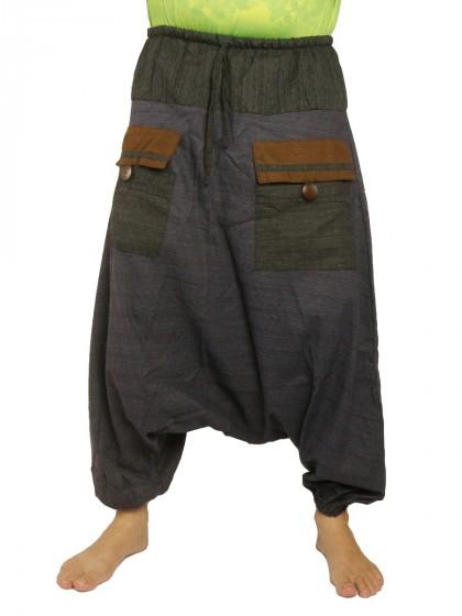 กางเกงฮาเร็ม หลากสี*สีตามแบบ*ผ้าฝ้ายผสม*สำหรับสุภาพบุรุษและสุภาพสตรี*