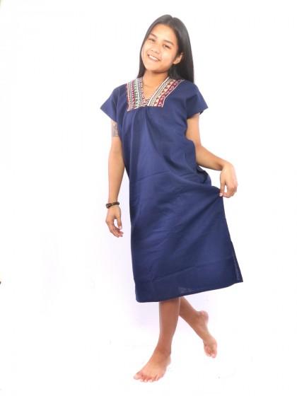 เดรสผ้าเมือง เดรสชาวเหนือ ผ้าไทย