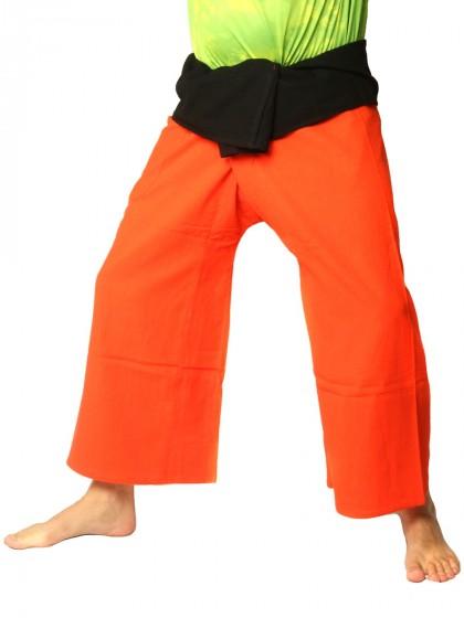กางเกงเล * ต่อสองสีลายวนกลม สีดำขอบเทา