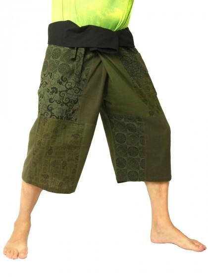 กางเกงเล * สีเขียวขี้ม้า  สีดำ